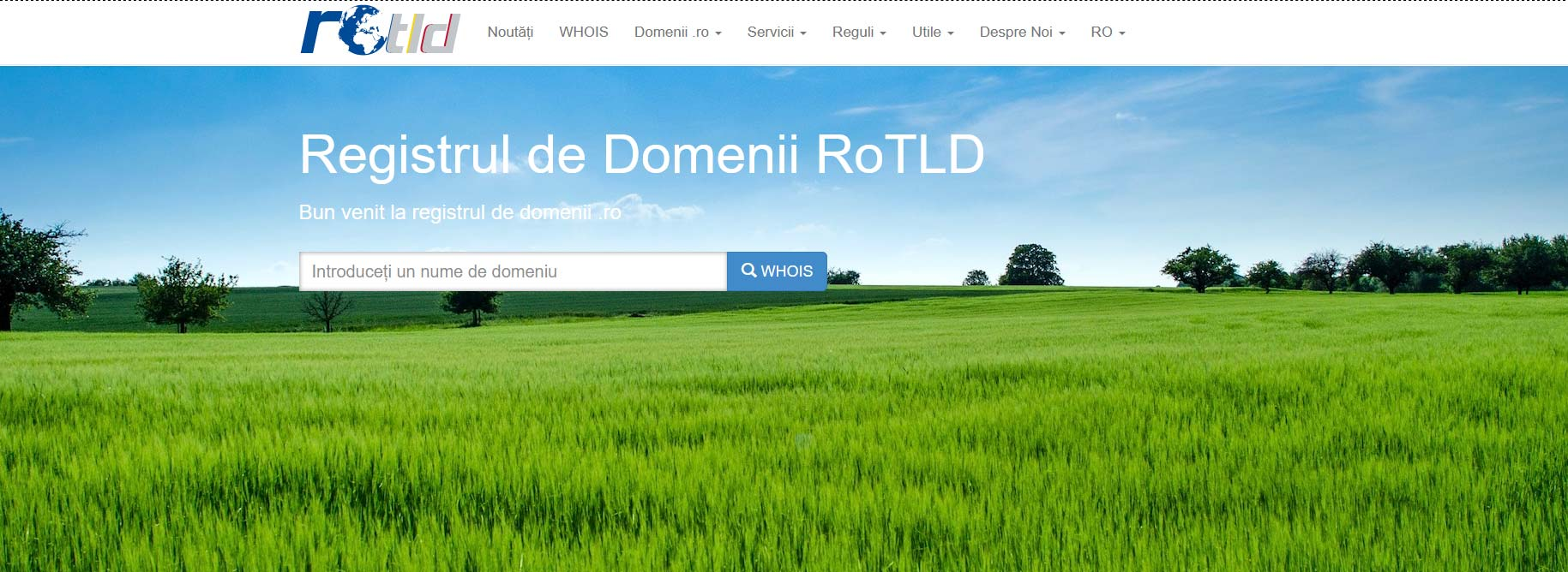 rotld administrare on line domeniu
